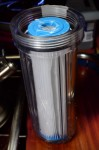 Water filter for the Kat 40e water maker.