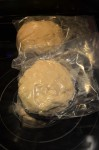 Then keep croissant dough in zip lock bag before keep in refrigerator over night.